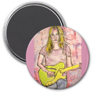 Rocker Girl Magnet