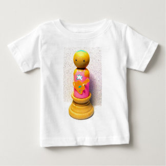 Rocker Girl Peg, rocker Betty Baby T-Shirt