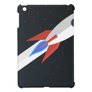 Rocket Blasting Off iPad Mini Covers
