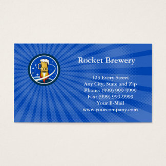 Rocket Brewery Business card