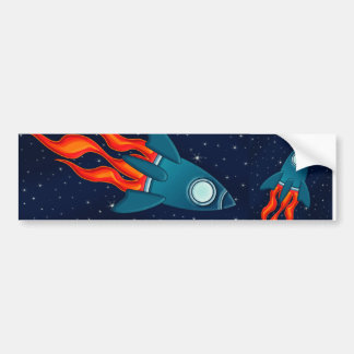 Rocket Bumper Sticker
