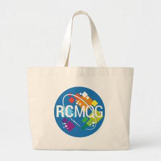 Rocket City Modern Quilt Guild Logo Large Tote Bag