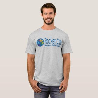 Rocket City Modern Quilt Guild Logo Men's Shirt