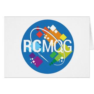Rocket City Modern Quilt Guild Logo Notecard