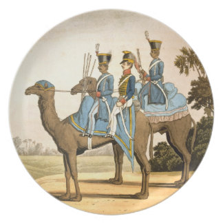 Rocket Corps and Dromedary Corps, Bengal Army 1817 Plates
