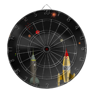 rocket dartboard