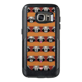 Rocket Emoji Stripe Pattern OtterBox Samsung Galaxy S7 Case