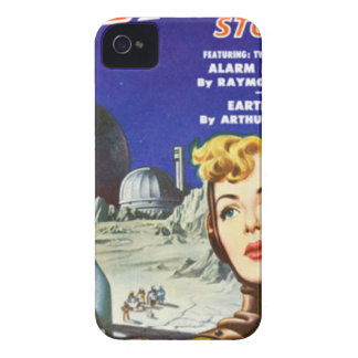 Rocket Girl iPhone 4 Covers