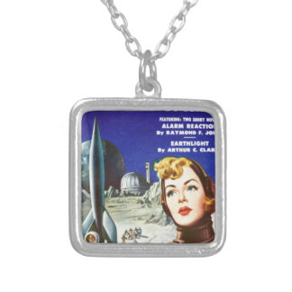 Rocket Girl Silver Plated Necklace
