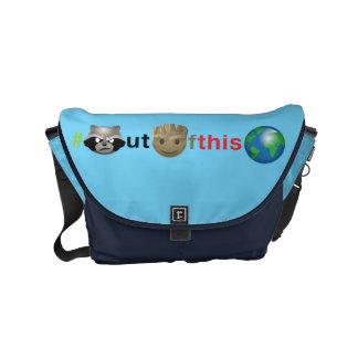 Rocket & Groot #outofthisworld Emoji Commuter Bag