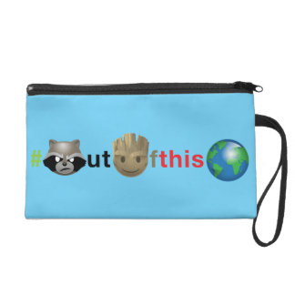 Rocket & Groot #outofthisworld Emoji Wristlet
