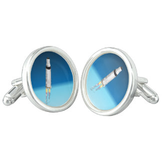 Rocket Launched Cufflinks