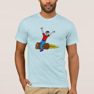 rocket log T-Shirt
