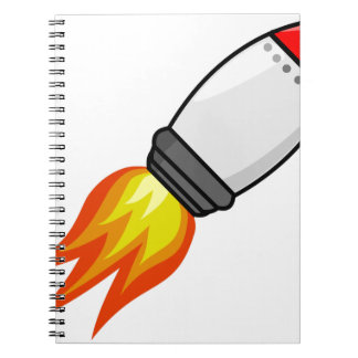 Rocket Missile Notebook