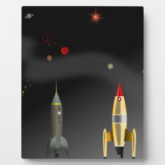 rocket plaque