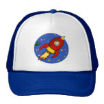 Rocket red yellow Hat