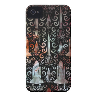 Rocket Science Damask iPhone 4 Cover