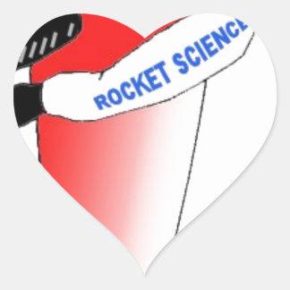 Rocket Science Heart Sticker