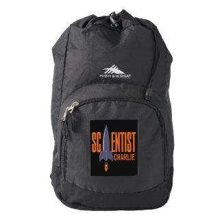 Rocket Scientist custom name backpacks Backpack