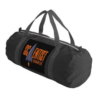 Rocket Scientist custom name duffle bags Gym Duffel Bag