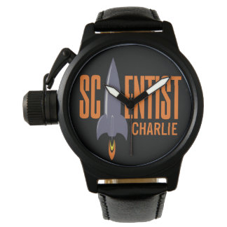 Rocket Scientist custom name watches