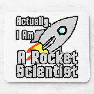 Rocket Scientist Mouse Pad