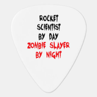Rocket Scientist Zombie Slayer Guitar Pick