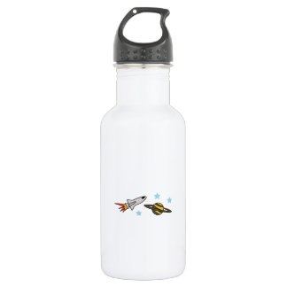ROCKET SHIP AND SATURN 532 ML WATER BOTTLE