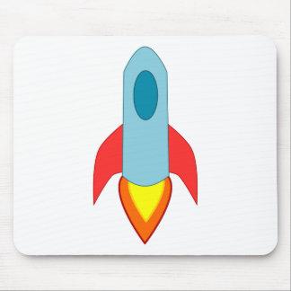 Rocket Ship Mousepad