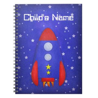 Rocket Ship Notebook