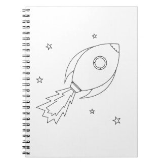 Rocket Ship Notebooks