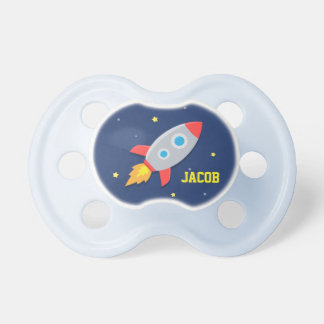 Rocket Ship, Outer Space, For Baby Boys Dummy