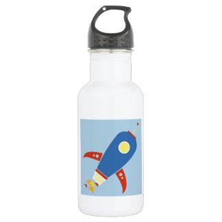 Rocket Ship 532 Ml Water Bottle