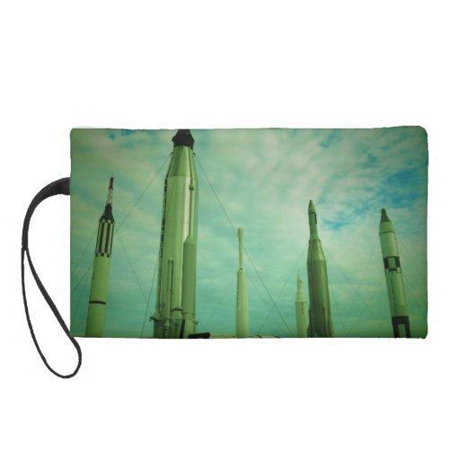 Rocket Ship Purse Wristlet Purses