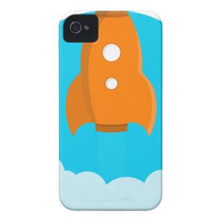 Rocket Ship Taking Off Case-Mate iPhone 4 Case