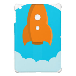 Rocket Ship Taking Off iPad Mini Cases