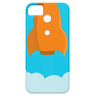 Rocket Ship Taking Off iPhone 5 Cover