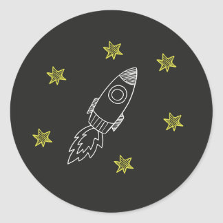Rocket Sticker