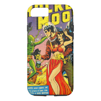 ROCKET TO THE MOON CLASSIC 1950's SCI FI COMICS iPhone 8/7 Case