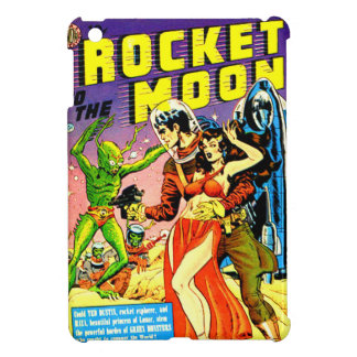 Rocket to the Moon iPad Mini Cases