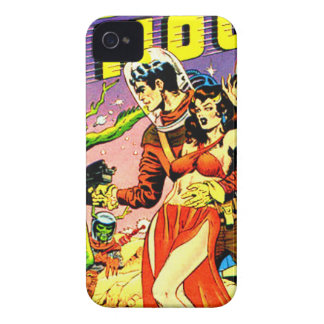 Rocket to the Moon iPhone 4 Case