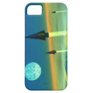 Rocket to the moon iPhone 5 case