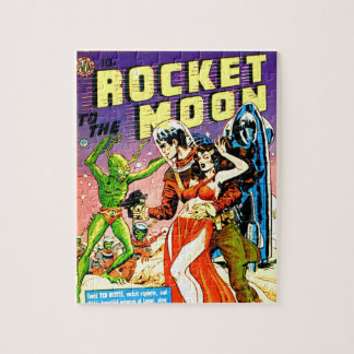 Rocket to the Moon Jigsaw Puzzle