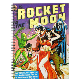 Rocket to the Moon Notebook