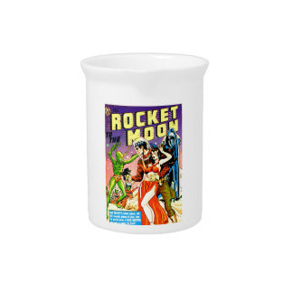 Rocket to the Moon Pitcher