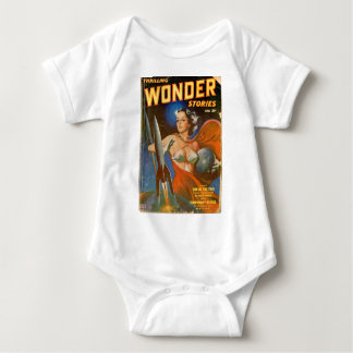 Rocket Woman Baby Bodysuit
