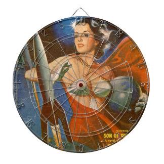 Rocket Woman Dartboard