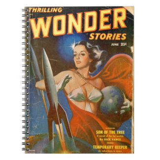 Rocket Woman Notebooks