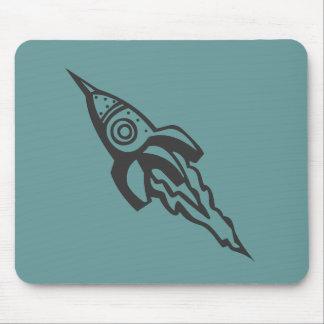 rocketship mousepad