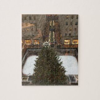 Rockfeller Center Christmas Tree NYC Xmas Puzzle